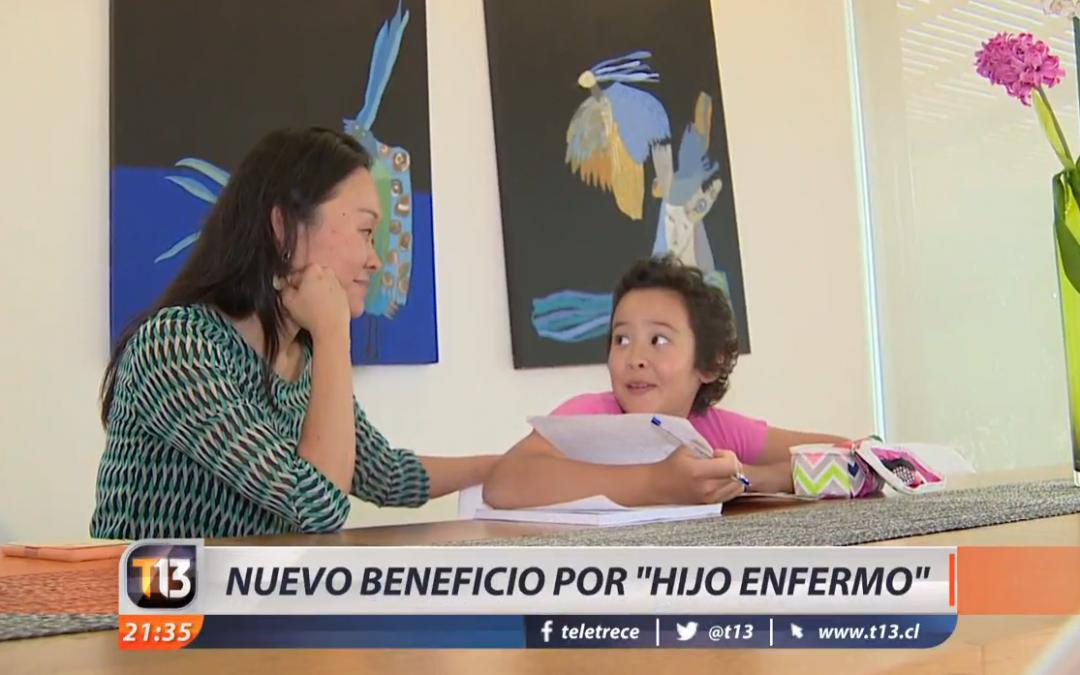 """Nuevo beneficio por """"hijo enfermo"""" anunciado por la Presidenta"""