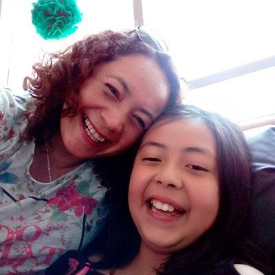 Alejandra Torrico, mamá de Martina